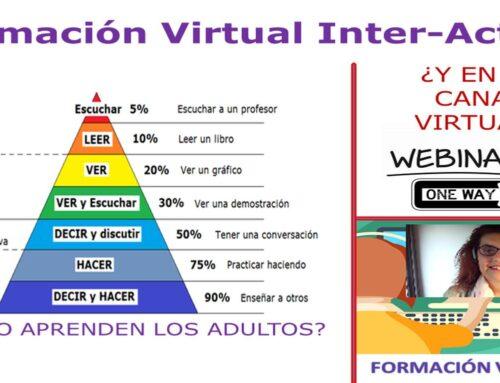 FORMACIÓN DE FORMADORES VIRTUALES